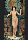 John William Godward Study of Campaspe painting