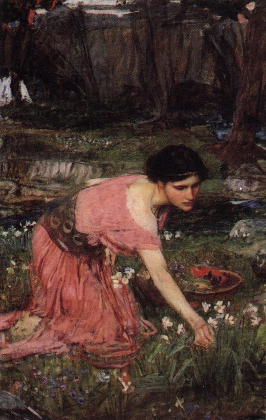 John William Waterhouse Flora