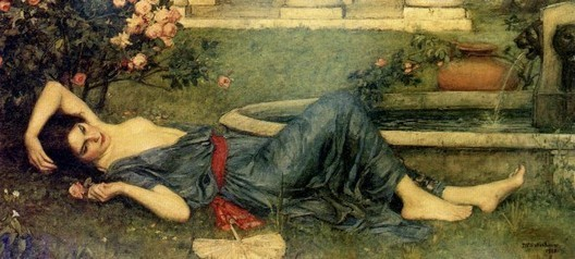 John William Waterhouse Sweet Summer