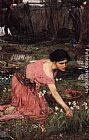 John William Waterhouse Flora ii painting