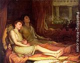 John William Waterhouse Sleep and His Half Brother Death painting