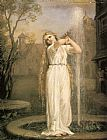 John William Waterhouse Undine painting