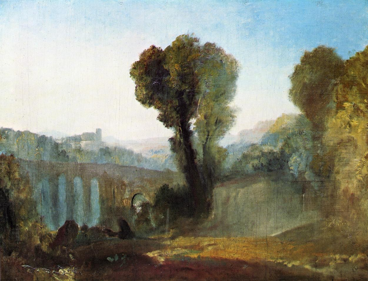Joseph Mallord William Turner Ariccia Sunset