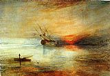 Joseph Mallord William Turner Fort Vimieux painting