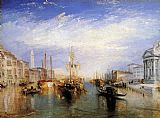 Joseph Mallord William Turner The Grand Canal Venice painting