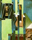 Still Life paintings - The Guitar by Juan Gris