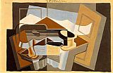Juan Gris The Mountain Le Canigou painting