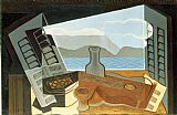 Still Life paintings - The Open Window by Juan Gris