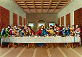 the picture of the last supper