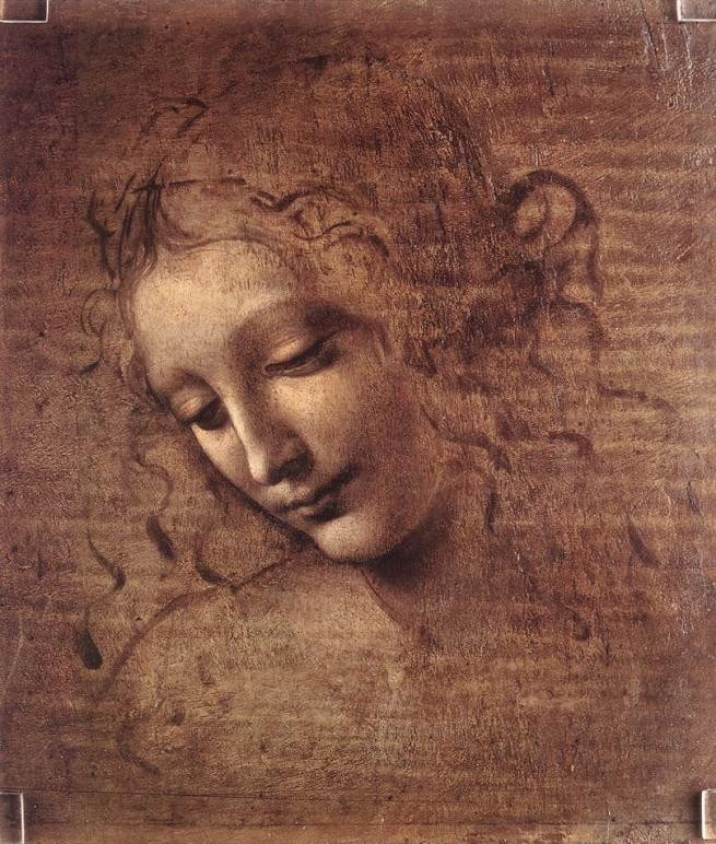Leonardo da Vinci Female Head