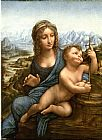 Leonardo da Vinci Madonna of the Yarnwinder painting