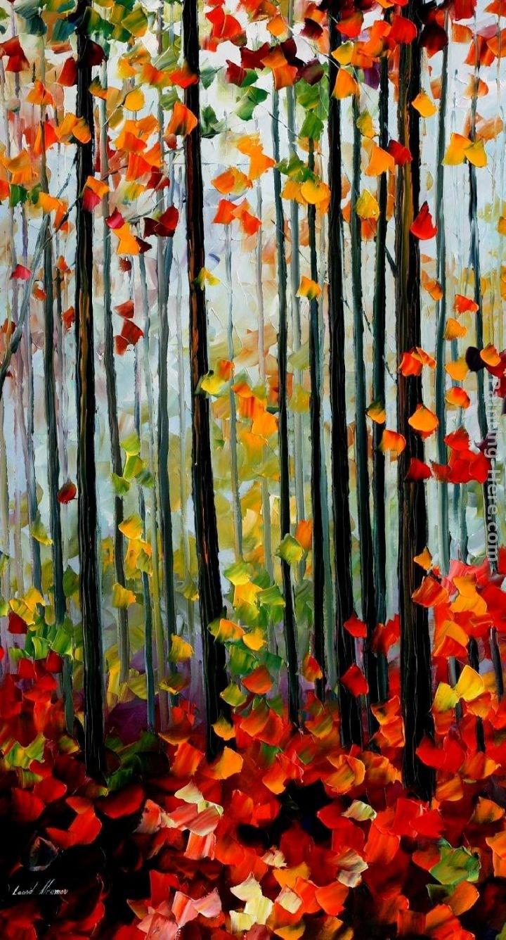 Leonid Afremov Misty Mood Painting Best Paintings For Sale