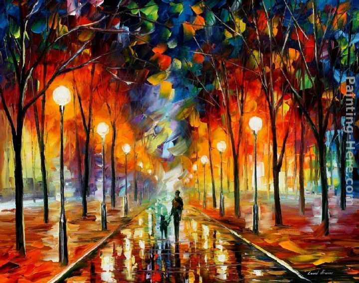 Leonid afremov friendship painting best paintings for sale for Large artwork for sale