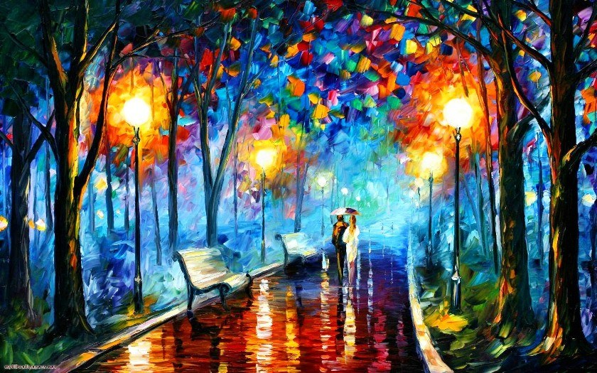Leonid Afremov MISTY MOOD