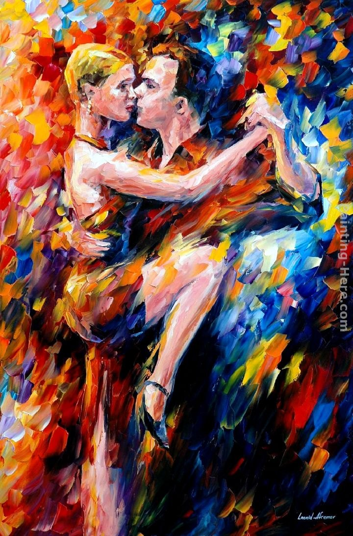 Leonid Afremov TANGO OF LOVE Painting | Best Paintings For ...