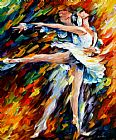 Ballet paintings - ROMEO AND JULIET by Leonid Afremov