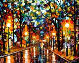 Leonid Afremov SPECTRUM OF FEELINGS painting