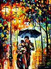 Leonid Afremov WARM NIGHT painting