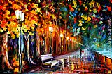 Leonid Afremov WAY TO HOME painting