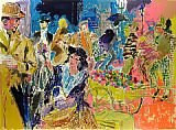Leroy Neiman My Fair Lady painting