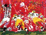 Leroy Neiman National Champions, Nebraska Suite painting