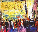 Leroy Neiman Opening Night on Broadway painting