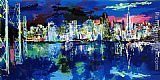 Leroy Neiman San Francisco by Night painting