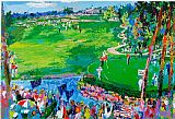 Leroy Neiman the 37th Ryder Cup painting