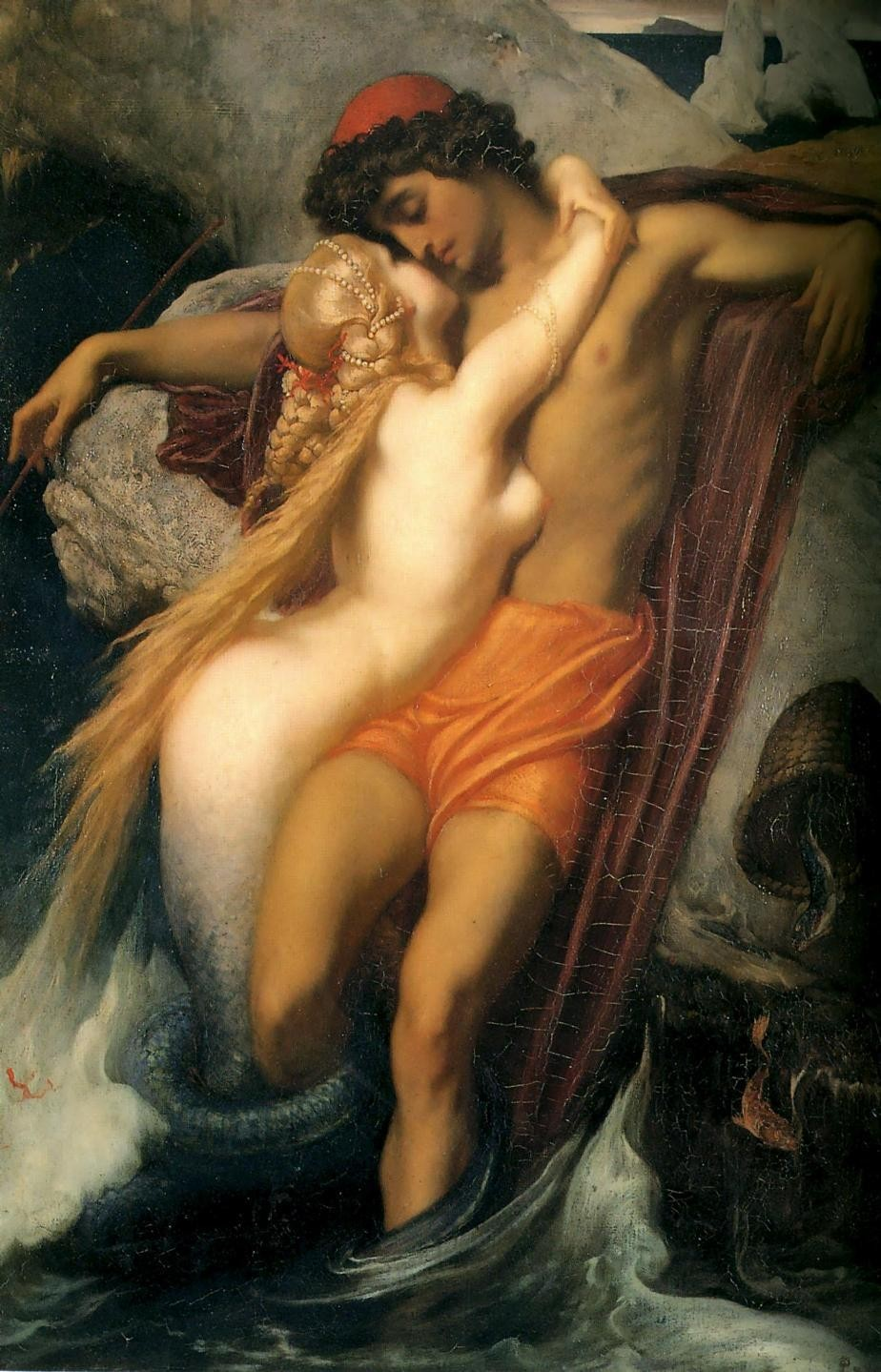 Lord Frederick Leighton The Fisherman and the Syren