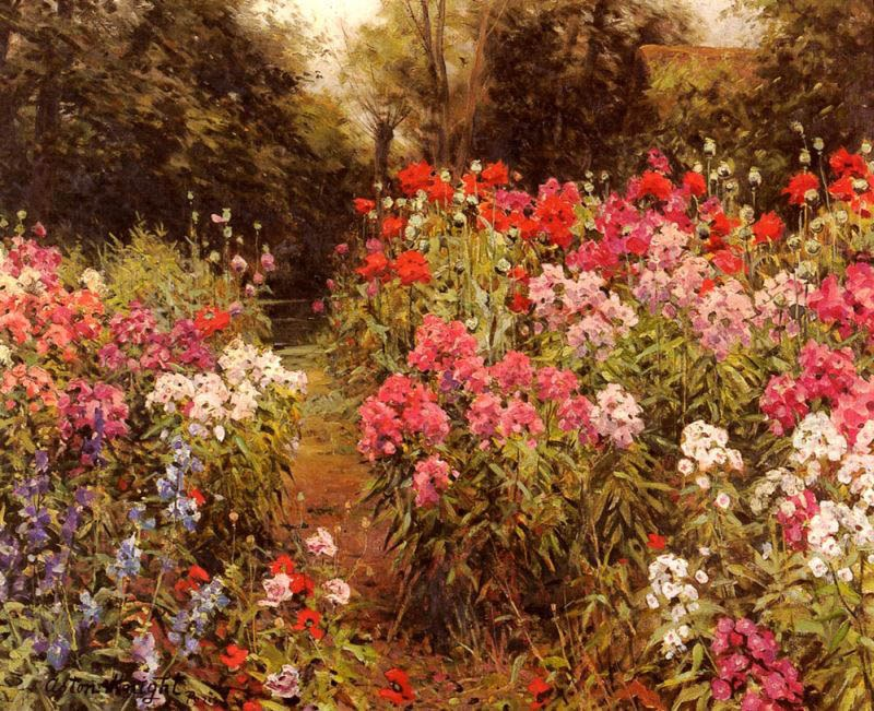 Great Louis Aston Knight A Flower Garden