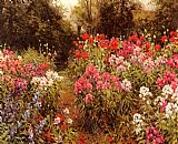 Louis Aston Knight A Flower Garden painting