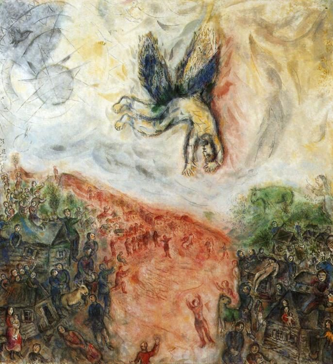 Marc Chagall The Fall of Icarus