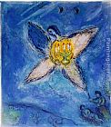 Marc Chagall Angel with Candlestick painting