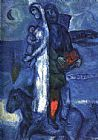 Marc Chagall Fisherman's Family painting