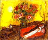 Marc Chagall Le Ciel embrase painting
