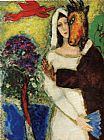 Marc Chagall Midsummer Night's Dream painting