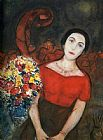 Marc Chagall Portrait of Vava painting