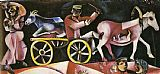 Marc Chagall The Cattle Dealer painting