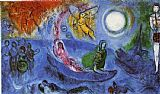 Marc Chagall The Concert painting
