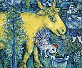 Marc Chagall The Farmyard painting