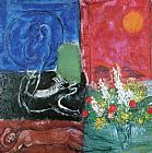 Marc Chagall The Sun of Poros painting