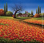 Mario CHATAEU OF THE FIELDS painting