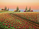 palette knife paintings - MAGNIFICENT JOURNEY by Mario