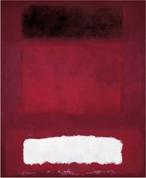 Mark Rothko Red White and Brown c1957