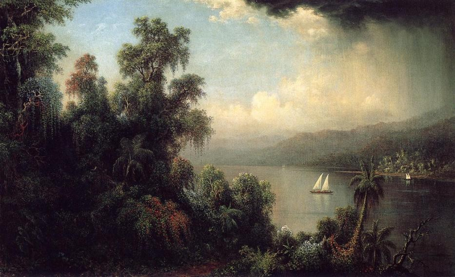 Martin Johnson Heade Coast of Jamaica