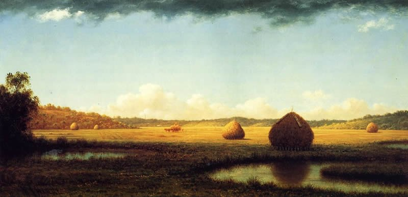 Martin Johnson Heade Summer Showers