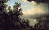Martin Johnson Heade Coast of Jamaica painting