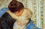 Mary Cassatt Mother And Child 7 painting