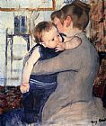 Mary Cassatt Mother And Child painting