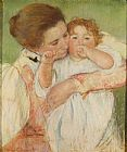 Mary Cassatt Mother and Child, 1897 painting